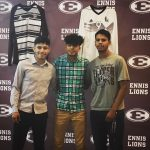 Boys Soccer Signs 3 to Next Level!