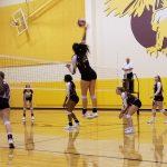 Girls Varsity Volleyball beats Faith Family Academy 3-0