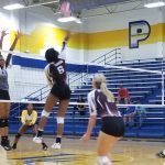 Lady Lions Volleyball takes down Garland Lakeview in 3
