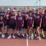 Jr.High tennis defeats Corsicana 21-13
