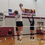 Lady Lions Volleyball makes quick work of Palmer in 3 sets.
