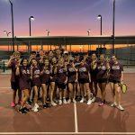 JV Tennis def Midlo 23-4