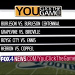 Vote for Ennis vs Royse City as the Fox 4 Game of the Week