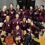 Girls 7th Grade Volleyball B beats Forney Brown 2 – 1