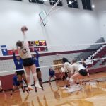 Lady Lions Volleyball defeats Corsicana 3-2