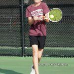 Varsity Tennis Regional Semi-finals Action