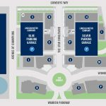 The Star in Frisco Parking Map