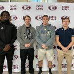 Ennis Football Academic All State Recipients