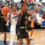 Ennis vs Kaufman Playoff Basketball, photos courtesy of Lezley Norris