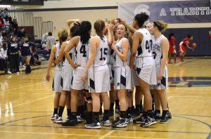 East Lansing varsity Girls basketball vs Sexton