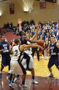 East Lansing Varsity Basketball vs Okemos