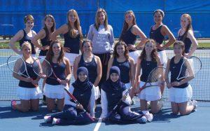 Girl's Varsity Tennis 2013