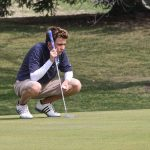 East Lansing High School Golf Varsity Boys finishes 2nd place at East Lansing Invitational