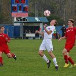 East Lansing High School Soccer Varsity Boys beats Lowell High School 5-0