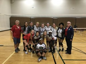 Girls Varsity Volleyball Williamston Tournament Silver Winners