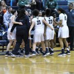 East Lansing High School Girls Varsity Basketball beat DeWitt High School 48-47