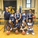 East Lansing High School Girls Junior Varsity Basketball beat St. Johns High School 30-20
