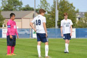 Boys jv soccer Everett 9-12-17