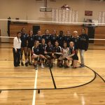 East Lansing High School Girls Varsity Volleyball beat Perry Invitational 2-0