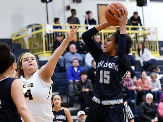 East Lansing Girls Basketball Stays on Roll