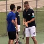 Boys Varsity Tennis defeats Waverly High School