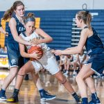 Girls Junior Varsity Basketball beats Marshall 48 – 43
