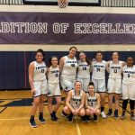Girls JV Basketball win 11 of final 12 games – beat Heritage 54 – 38
