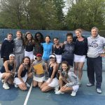 Girls Varsity Tennis finishes 2nd place at MHSAA Regional Tournament