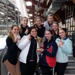 THS Figure Skating team are Districts 2 Champions and move on to States!