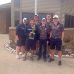 Trenton High School Boys Varsity Golf finishes 2nd place