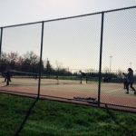 Trenton High School Girls Varsity Tennis beat Riverview High School 7-1