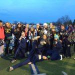 Trenton High School Girls Varsity Track finishes 3rd place