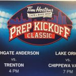 Prep Kickoff Classic August 27th