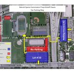 Parking for Today's Prep Kickoff Classic