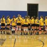 Trenton Girls 7th Grade Volleyball beat Taylor Hoover 2-1