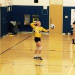 Trenton Girls 7th Grade Volleyball beat Melvindale Strong 1-0