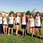 THS Men's and Women's Cross Country Compete in First DRL Meet