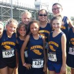 Middle School Cross Country Fall 2016-2017