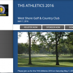 2016 THS Athletics GOLF OUTING