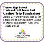 Track and Field Team – Casino Fundraiser