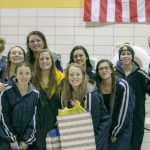THS Girls Swimming Parries off the Bucs on Senior Night 18Oct16