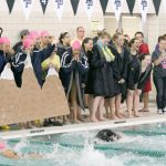 THS Girls Swimming Wins Key DRL Showdown at Carlson 20Oct16
