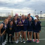THS Girls Tennis takes 2nd Place at Warrior Classic!