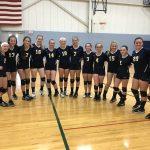 Trenton Girls 8th Grade Volleyball beat Shumate Middle School (Gibraltar) 3-0