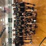 Trenton Girls 8th Grade Volleyball beat Allen Park High School 1-0