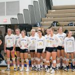 Varsity Volleyball wins Downriver Districts