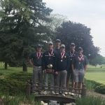 Boys Varsity Golf finishes 1st place at Monroe High School Boys Golf Invitational