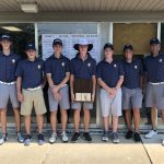 Boys Varsity Golf finishes 1st place at Varsity Golf Post League