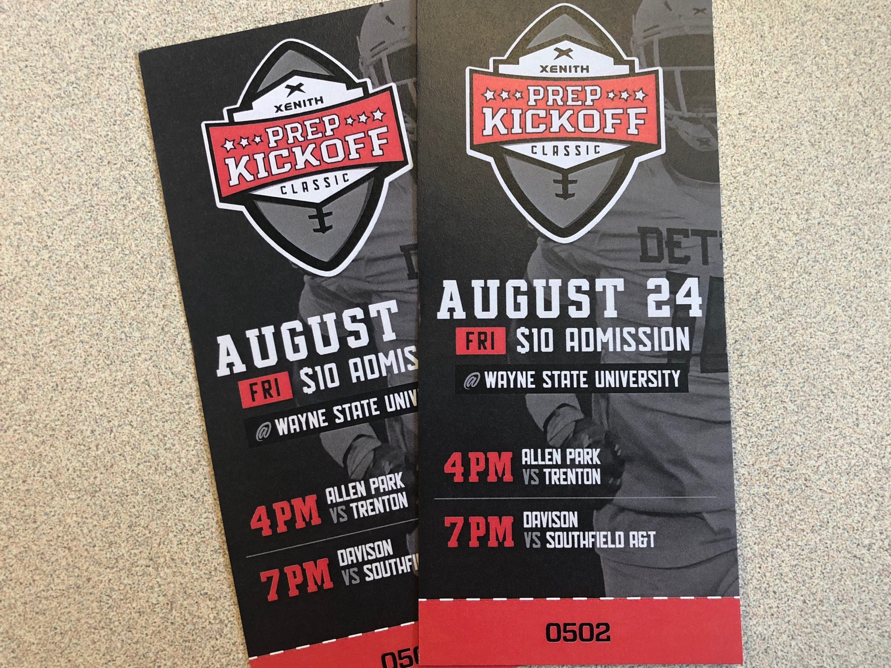 Pre-Sale Tickets for the 2018 Prep Kickoff at Wayne St.