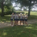 Girls Varsity Golf finishes 1st place at Jefferson Invitational